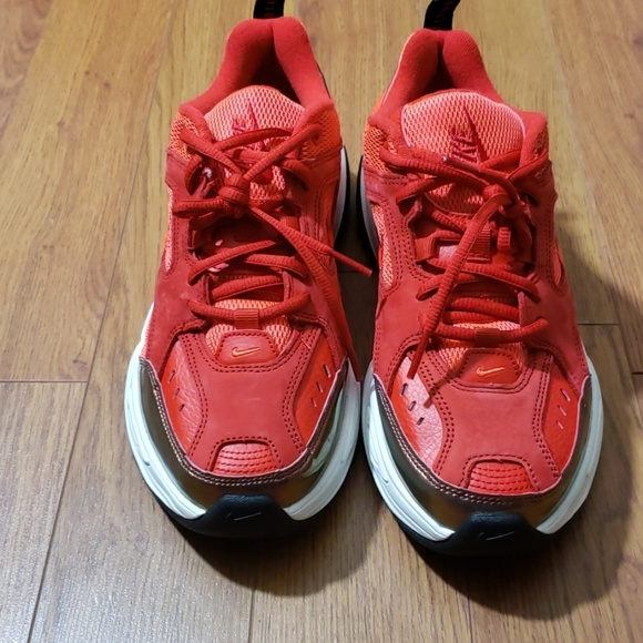 Nike Shoes   Nike M2k Tekno Red Suede
